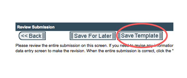 Saving your template will save you tons of time later, the next time you register the copyright for your blog. | Intellectual Property HQ
