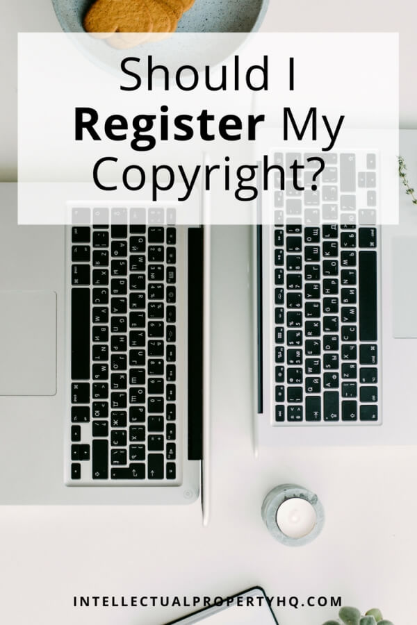 "If you've made anything you're proud of--a book, a blog, a video--you're probably wondering, ""Should I register my copyright?"" Short answer: yes! 