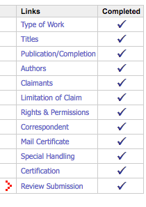 When you copyright your music, make sure you have completed all the steps!