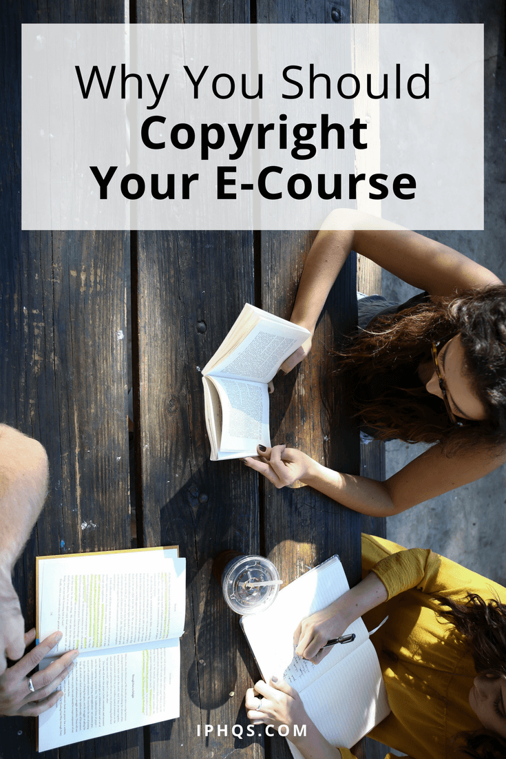 Wondering why you should copyright your e-course? Jason explains that your hard-earned work is more vulnerable than you think.