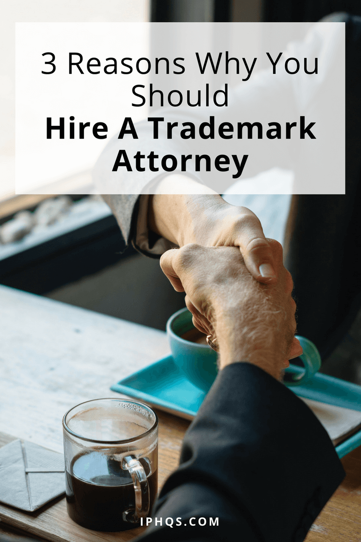 If you hire a trademark attorney, registering your trademark suddenly becomes a LOT less painful.