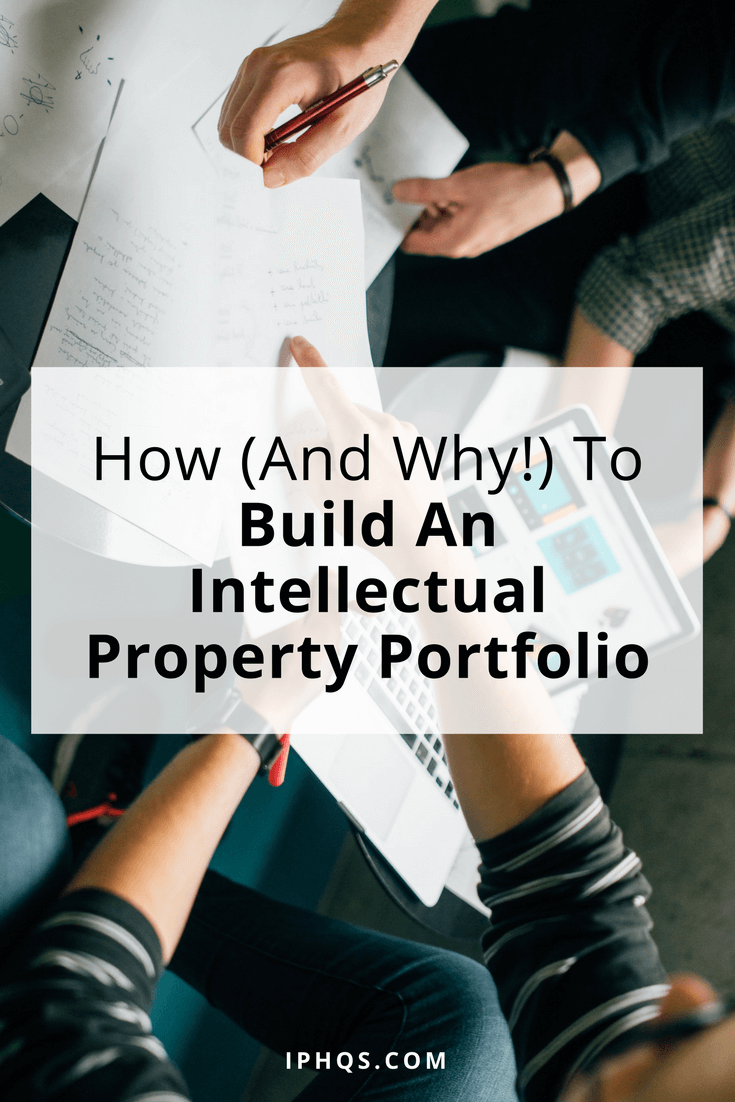 An intellectual property portfolio is vital if you want to lock in your company's value.