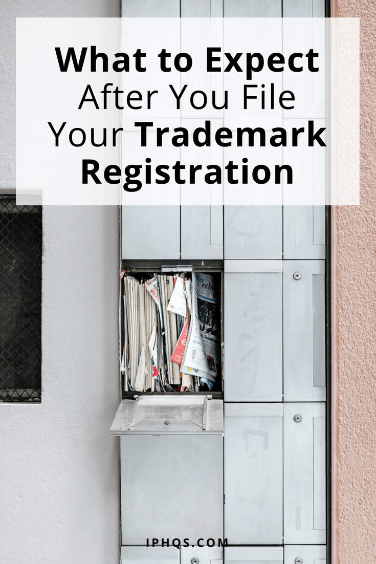 What to expect after you file your trademark registration