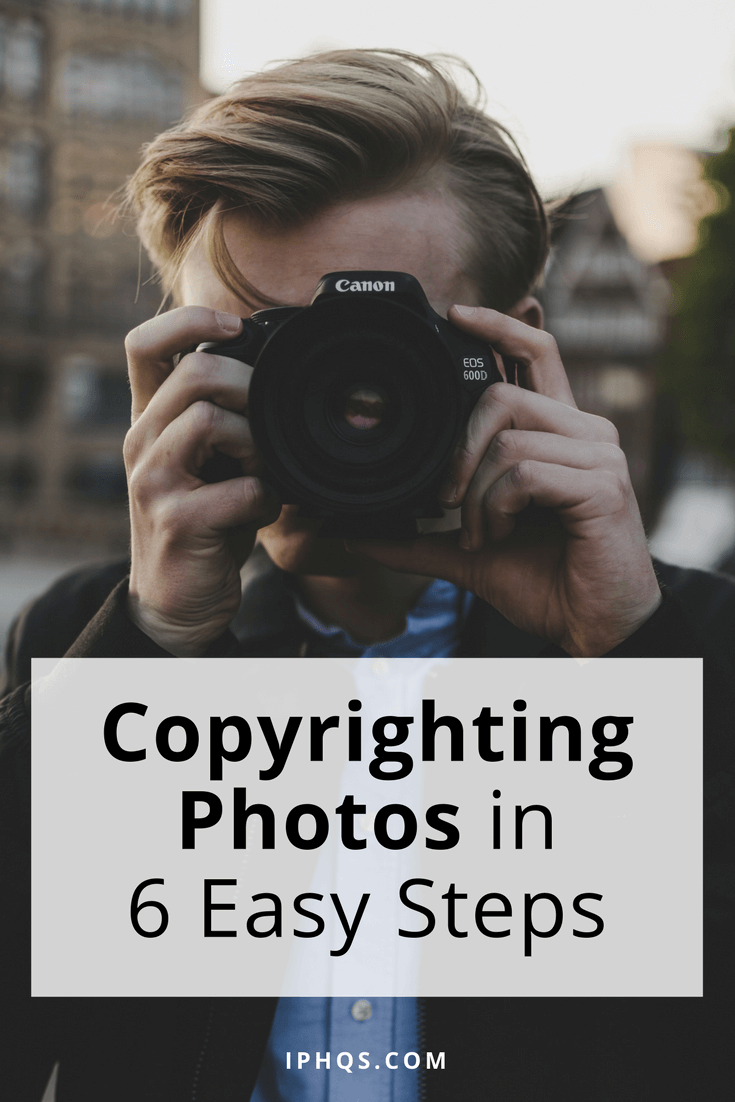 Copyrighting Photos in 6 Easy Steps